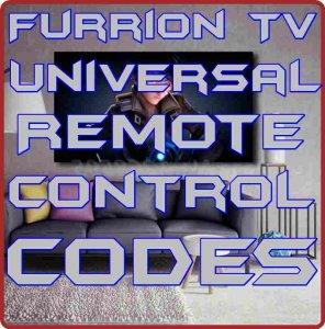 Furrion TV Universal Remote control codes
