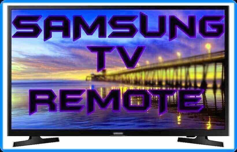 Samsung TV remote Codes
