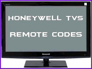 Honeywell TVs Remote Codes and Setup Guide