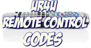 Ur4u Remote Control Codes and Setup Guide