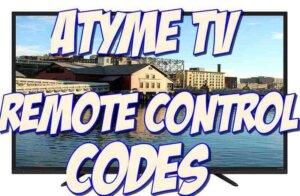 atyme tv remote codes