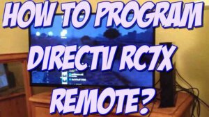 program DirecTV RC7x remote