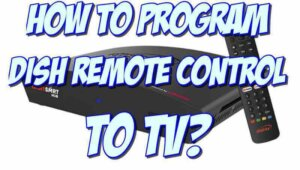 how to program dish remote to tv