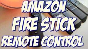 amazon fire stick universal remote