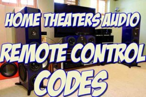 rcr414bhe home theaters audio remote codes