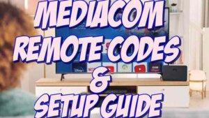 Mediacom Remote Codes