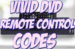 Vivid DVD Player Remote Control Codes