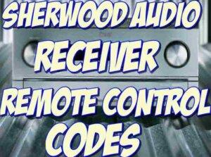 Sherwood Audio Receiver Remote Codes