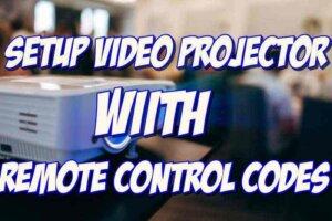 video projectors ir codes