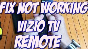 vizio tv remote not working