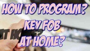 key fob programming